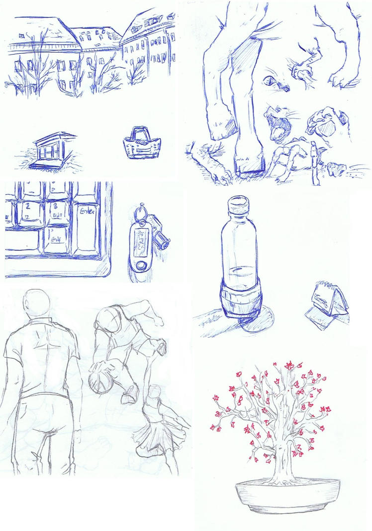 sketches by Pentragon1990