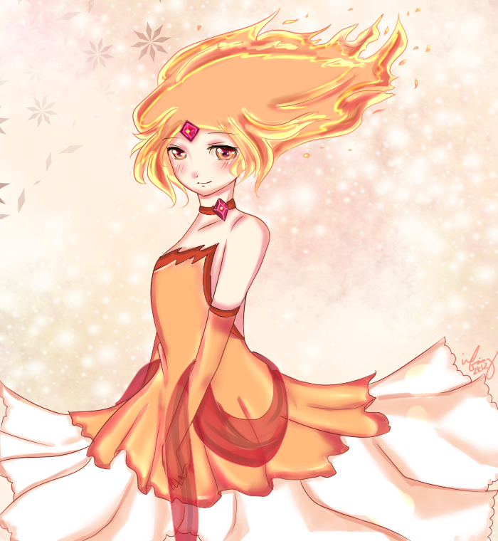Flame Princess by keyaramuri