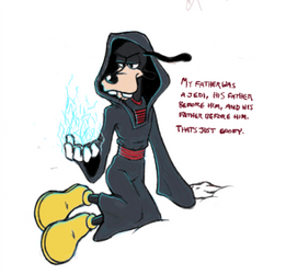 GAME THEORY: Goofy was an edgy Sith all along