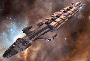 Hydra Freighter by Marian87
