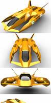 Anti-grav Racer No. 19 by Marian87