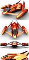 Anti-grav Racer No. 22 by Marian87