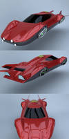 Flying car prototype Y body