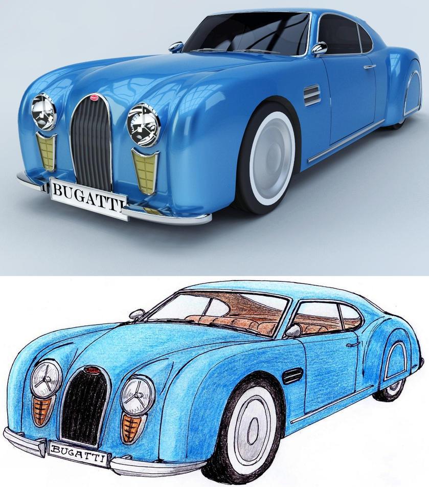 Bugatti T102 a by Marian87