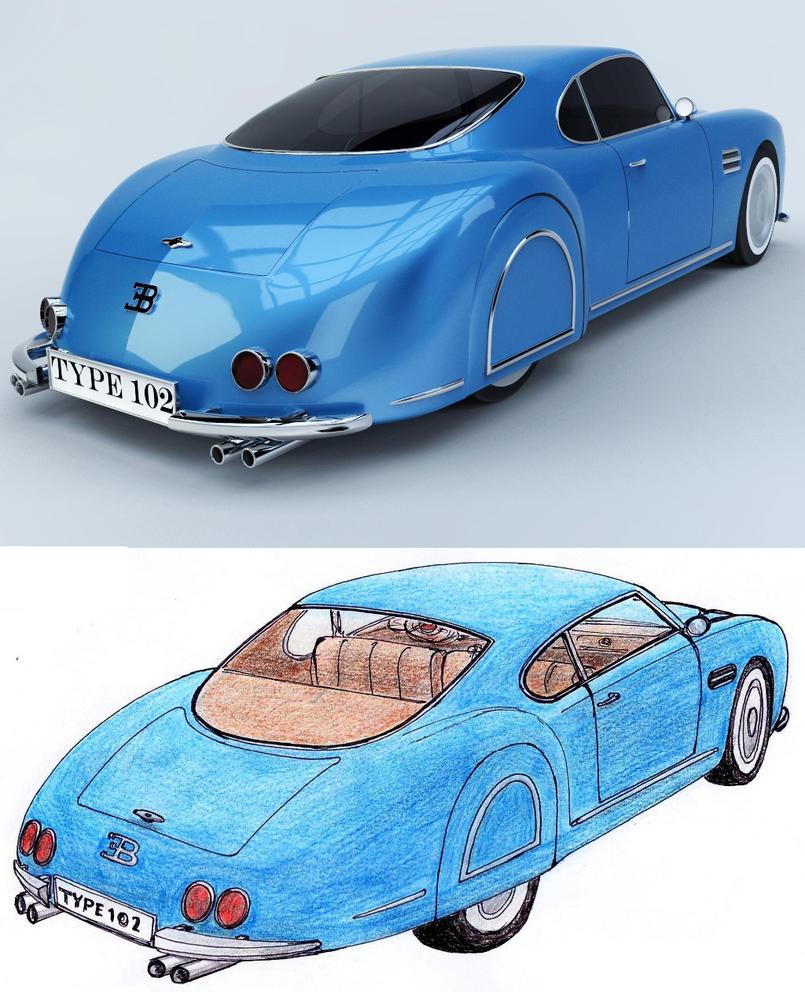 Bugatti T102 c by Marian87