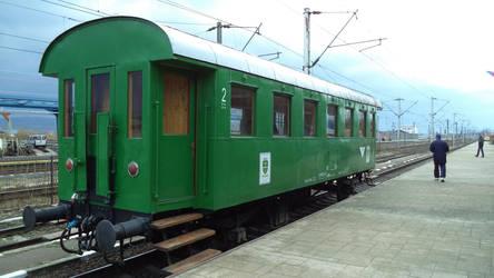 Carriage for CFF N2 302 Craita Steam Locomotive