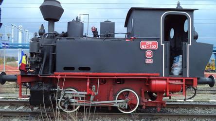 CFF N2 302 Craita Steam Locomotive