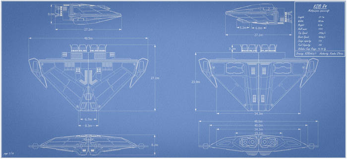Kob R4 Multipurpose Ship Blueprint