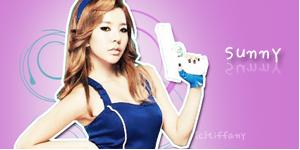SNSD Sunny Banner 4 by tifflebear