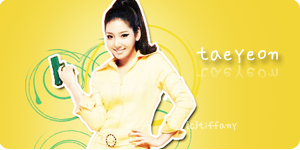 SNSD Taeyeon Banner 3 by tifflebear