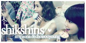 SNSD Yoona + Sooyoung Banner 2 by tifflebear
