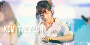 SNSD Taeyeon Banner 7 by tifflebear