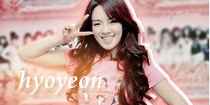 SNSD Hyoyeon Banner 3 by tifflebear
