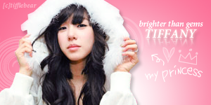 SNSD Tiffany Banner 5 by tifflebear