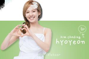 SNSD Hyoyeon Banner 4 by tifflebear