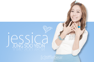 SNSD Jessica Banner 6 by tifflebear