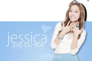SNSD Jessica Banner 6 by tifflebear