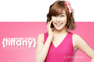SNSD Tiffany Banner 6 by tifflebear
