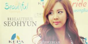 SNSD Seohyun Banner 6 by tifflebear