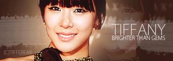 SNSD Tiffany Banner 7 by tifflebear