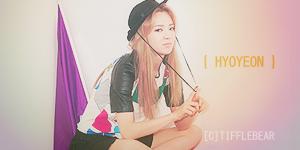 SNSD Hyoyeon Banner 8 by tifflebear