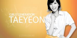 SNSD Taeyeon Banner 17 by tifflebear