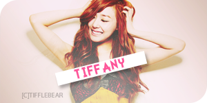 SNSD Tiffany Banner 23 by tifflebear