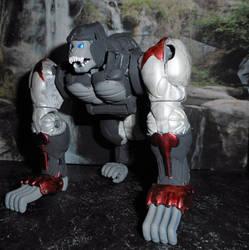 BeastWars Ss 1  BeastMachines Optimus Primal 2 by GRIMLOCKPRIME108