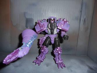 Beast Wars Season 1 colors Transmetal Megatron by GRIMLOCKPRIME108