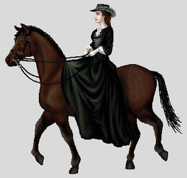 Kaiserin Elisabeth by Hrivalasse