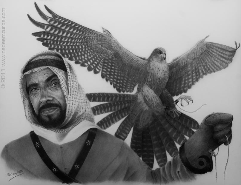 Equestrian of the arab by NadeemZurba