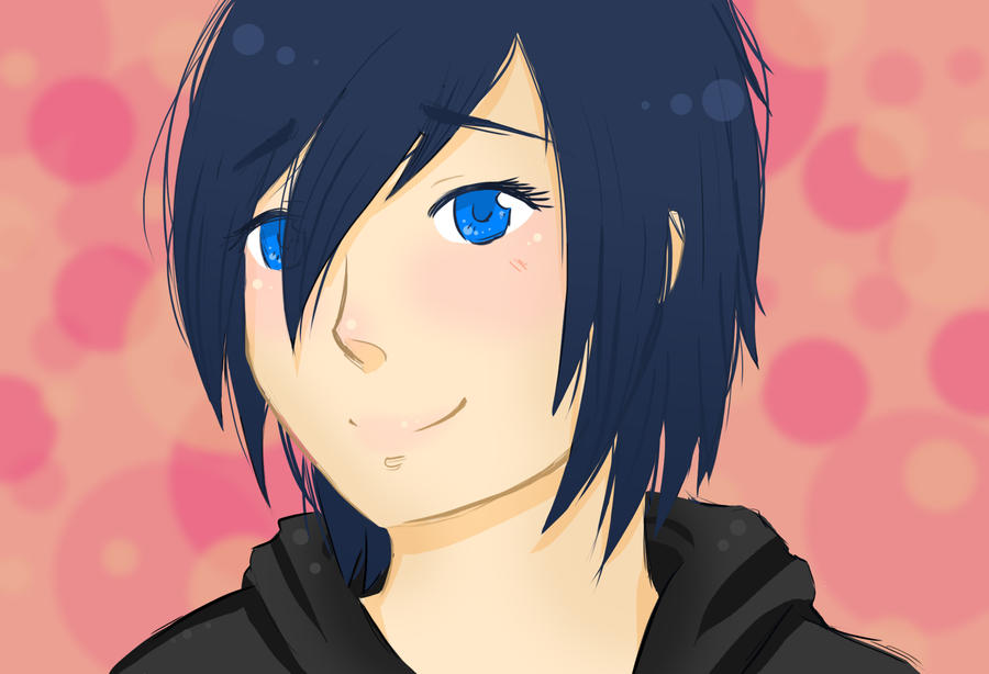 Xion - first doodle with new tablet! by Yagona