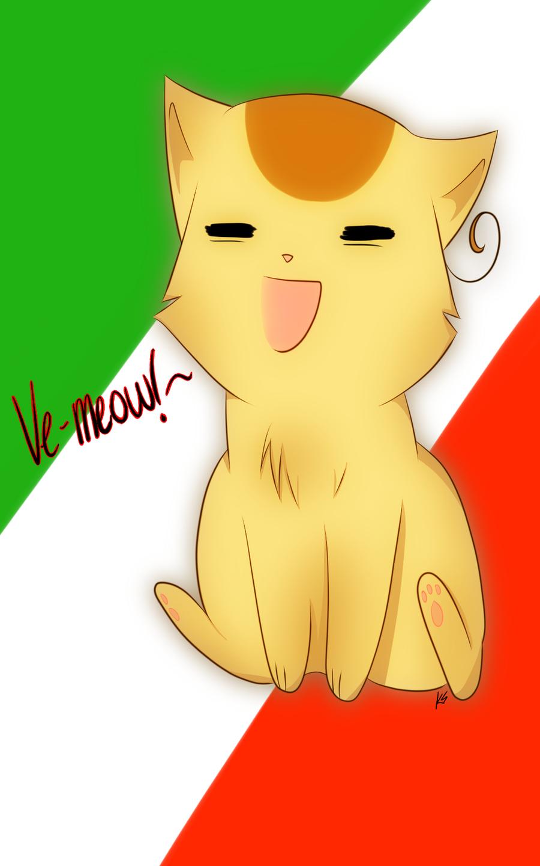 APH: Nekotalia Italy by KonataSong