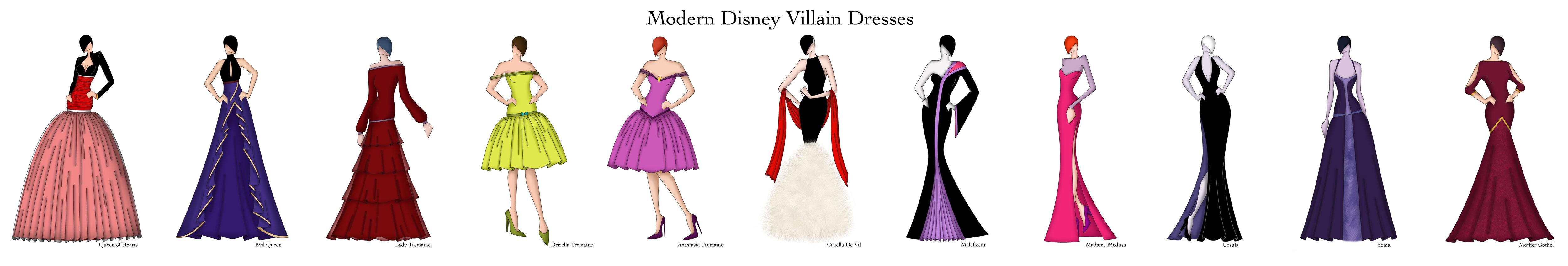 Disney Design Dresses