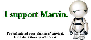 I Support Marvin