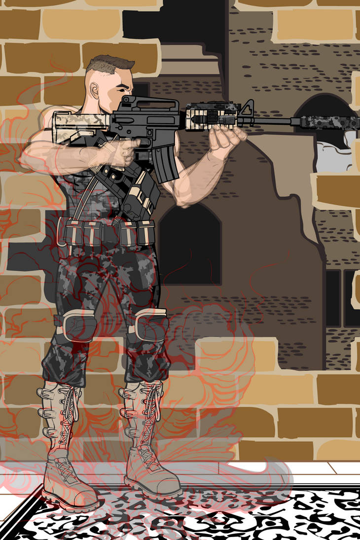 Phantom Soldier by Achillies228