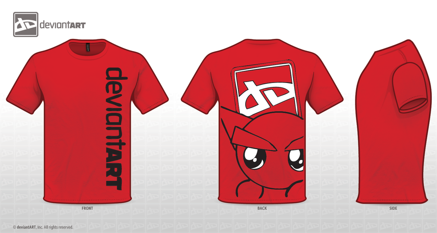 red fella T-shirt by thanklessdust28