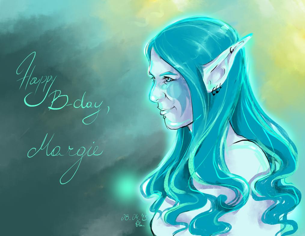 Margie, the water elf by ShiningShadow