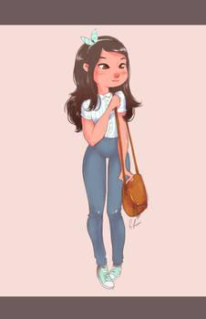 Cute city girl