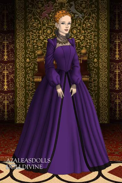 Queen Elizabeth I by Serenevie