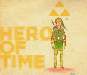Hero of Time by egnawg