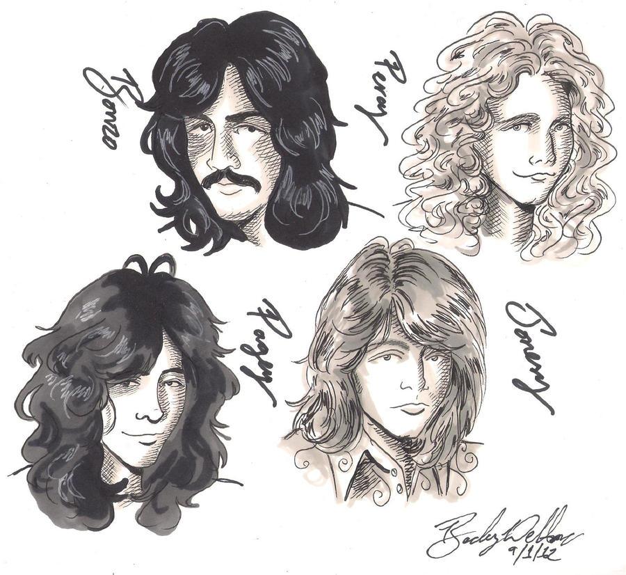 Zeppelin doodles by cozywelton