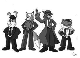 Star Fox Noir