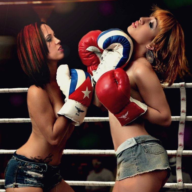 Boxe Ring Topless Female Porn 8