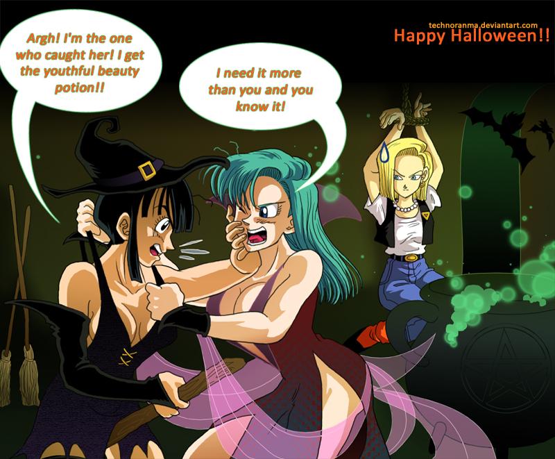 DBZbeauties: Wicked Witches by TechnoRanma
