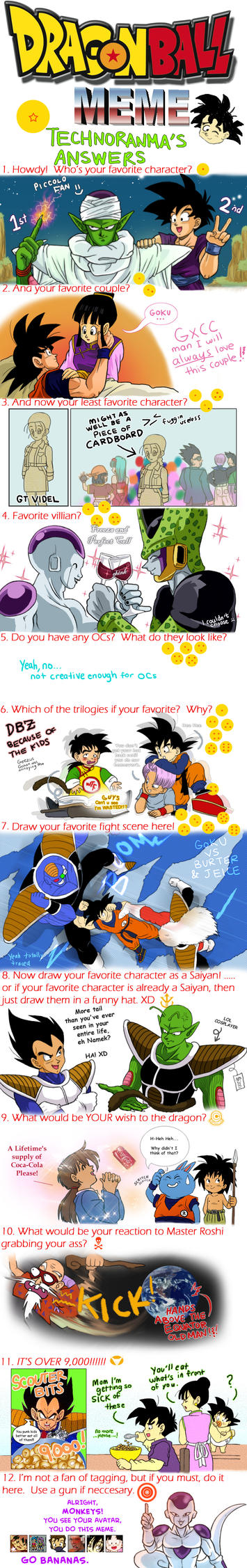 DragonBall Meme by TechnoRanma