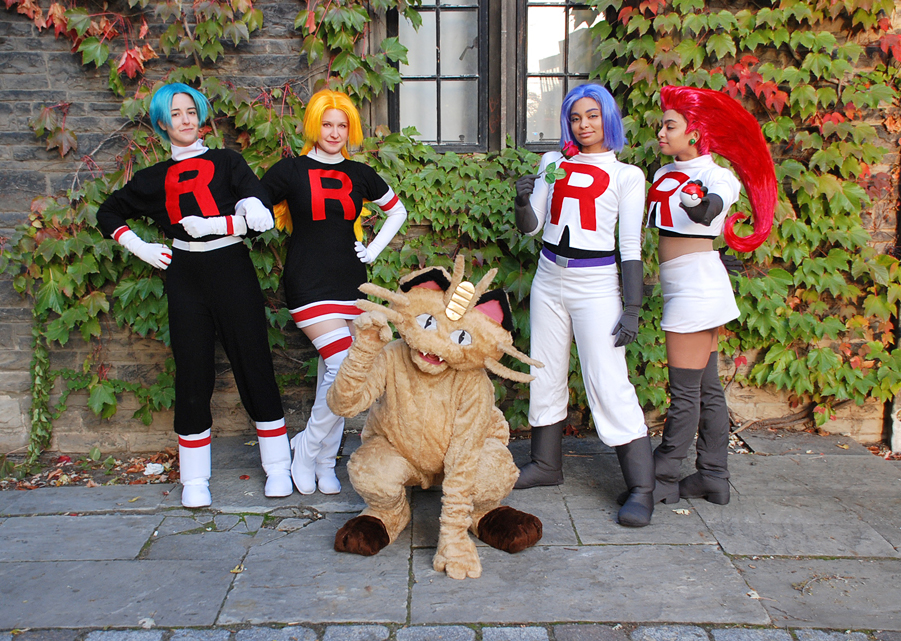 Team Rocket cosplay