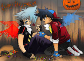 TyKa halloween by TechnoRanma