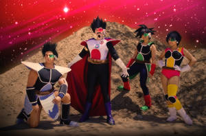 Cosplay - The Saiyans by TechnoRanma