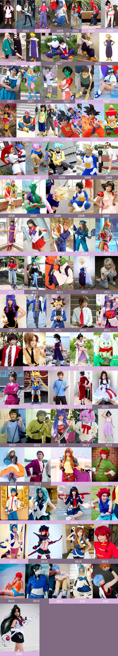 Techno's Cosplay Collage